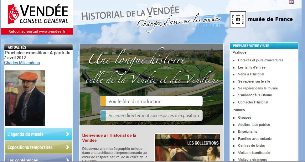 historial vendee